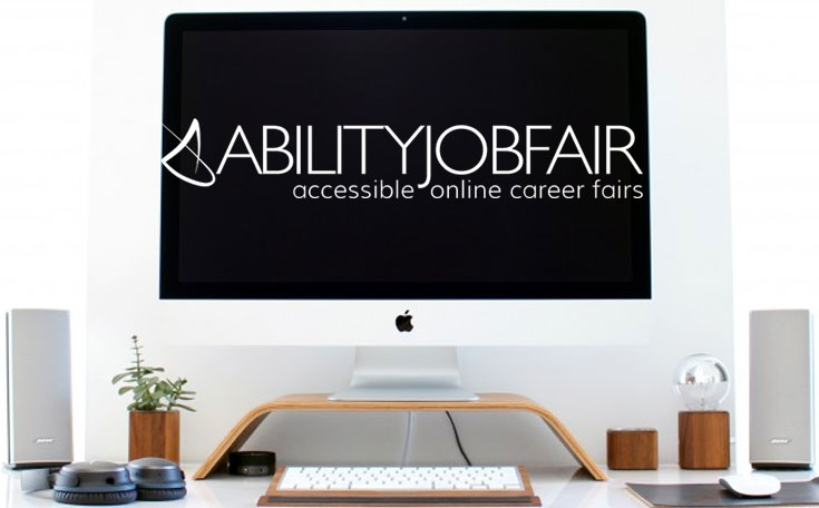 ABILITY Job Fair computer screen