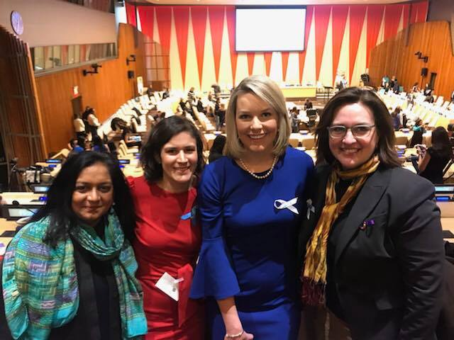 Women at United Nations event